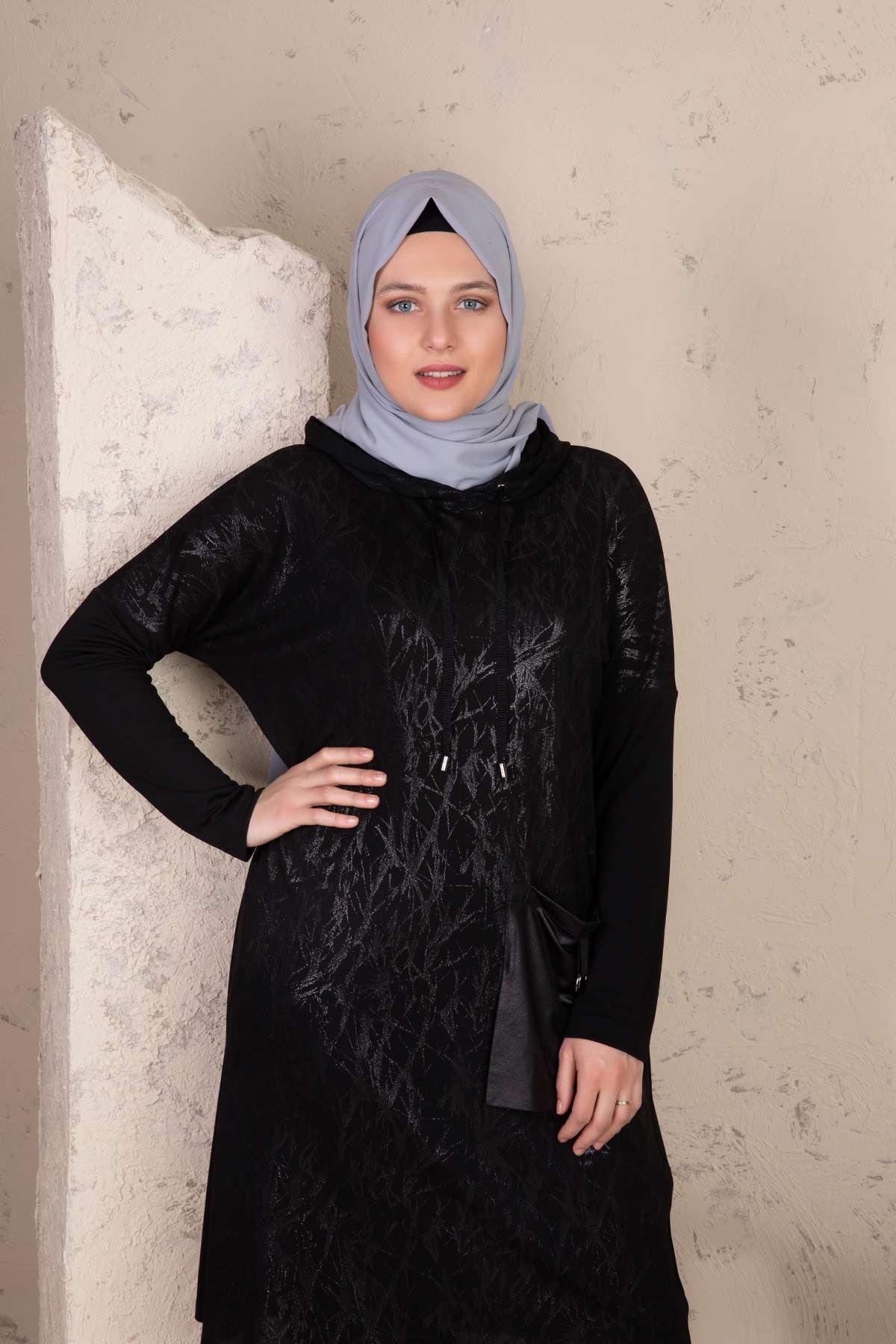 Meyra Pantolonlu Takım Siyah 35003