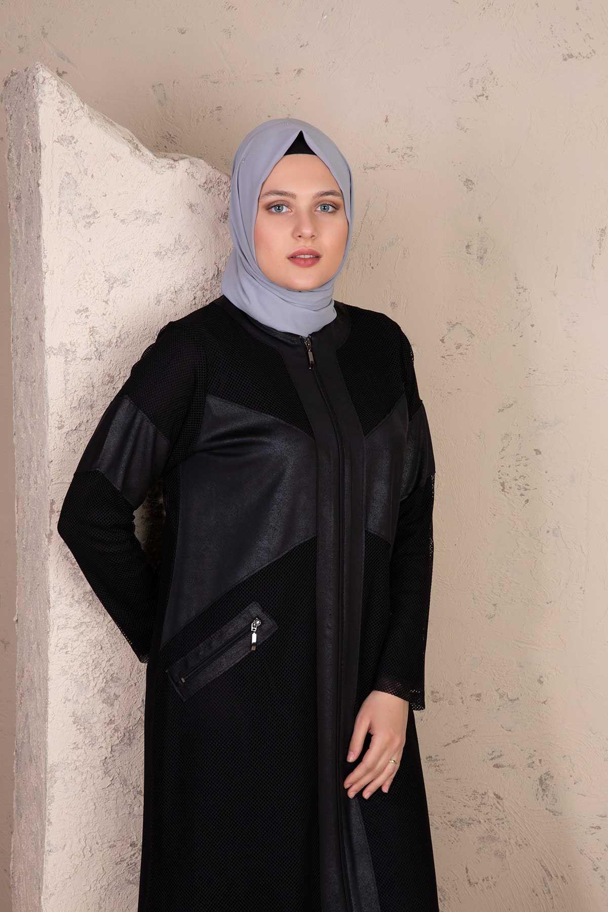 Ferra Fileli Takım Siyah 45003