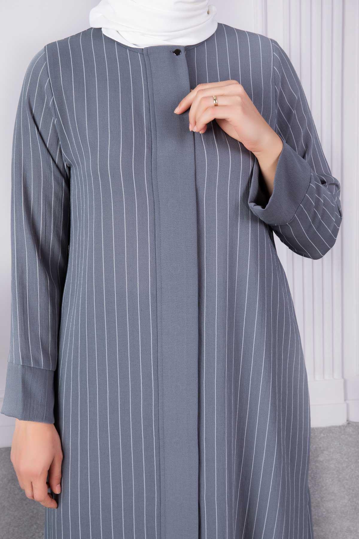 Nehar Pantolonlu Takım Gri 38002