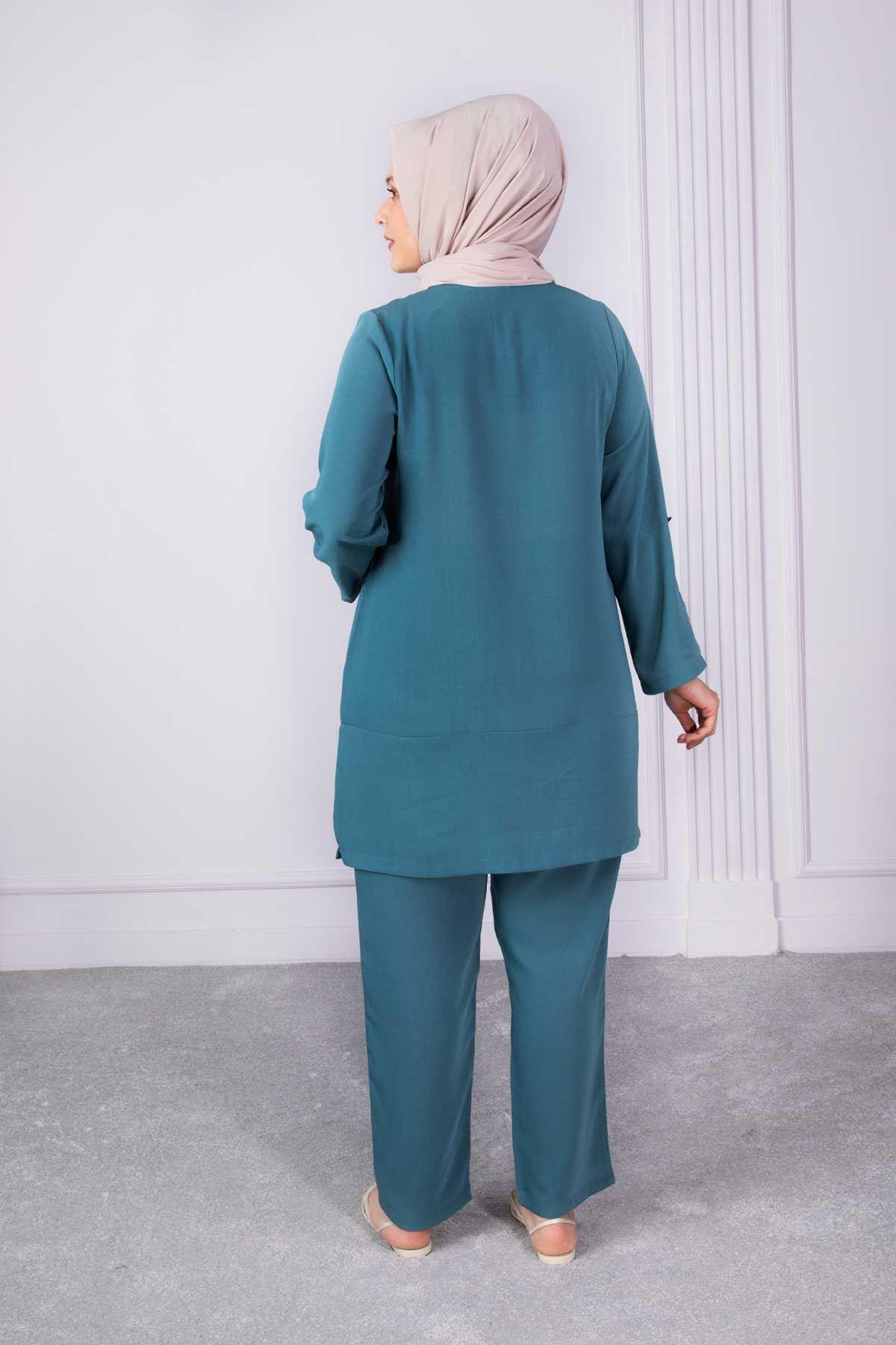 Şita Pantolonlu Takım Benetton 35006