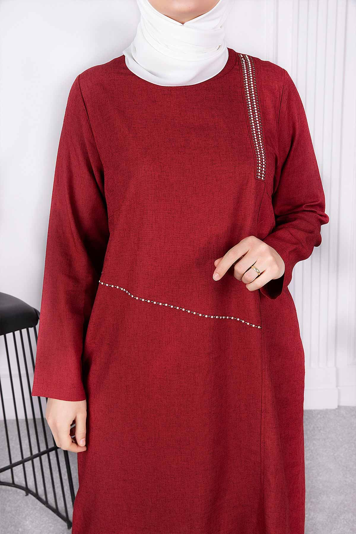 Alya Tunik Bordo 23002