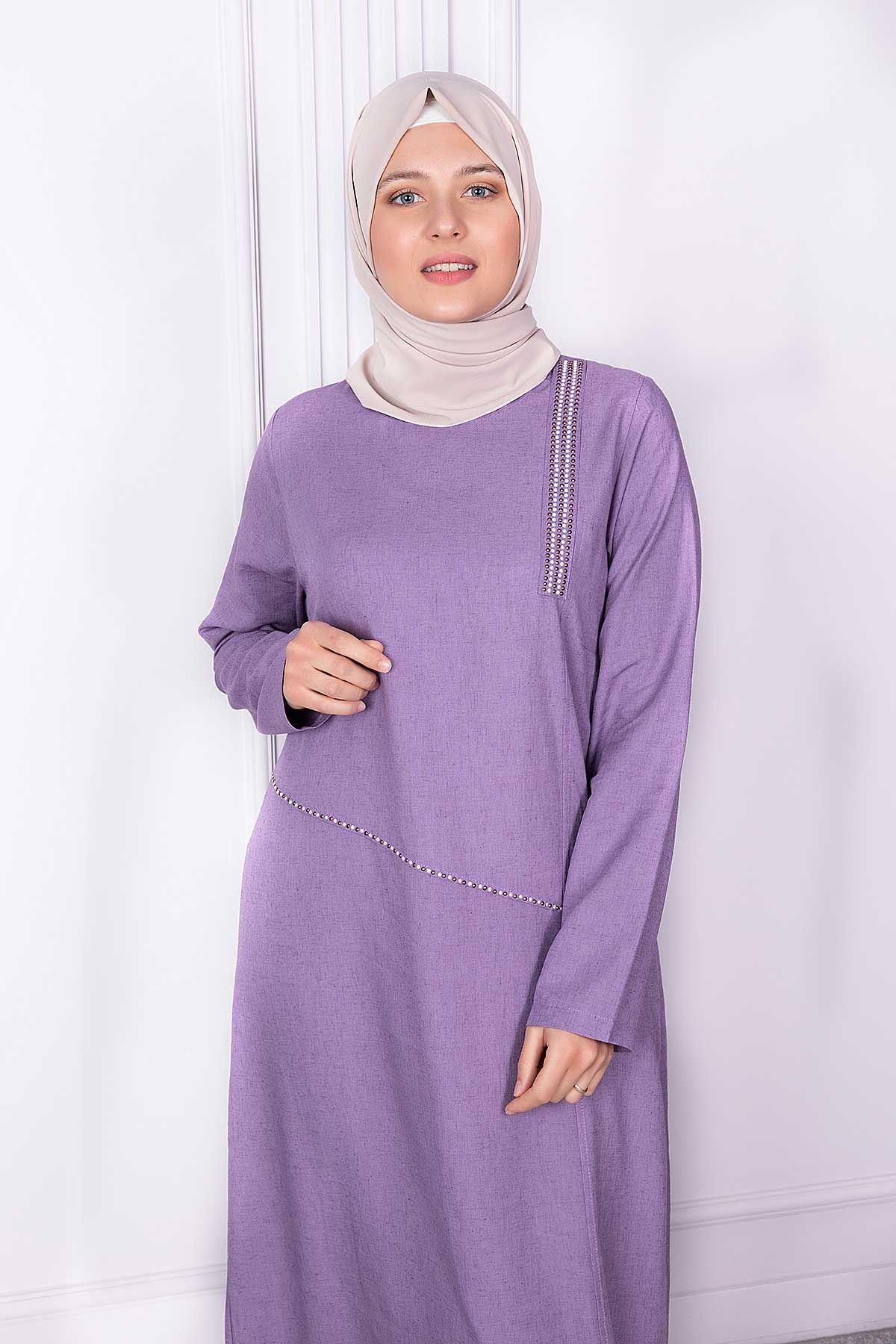 Alya Tunik Lila 23002