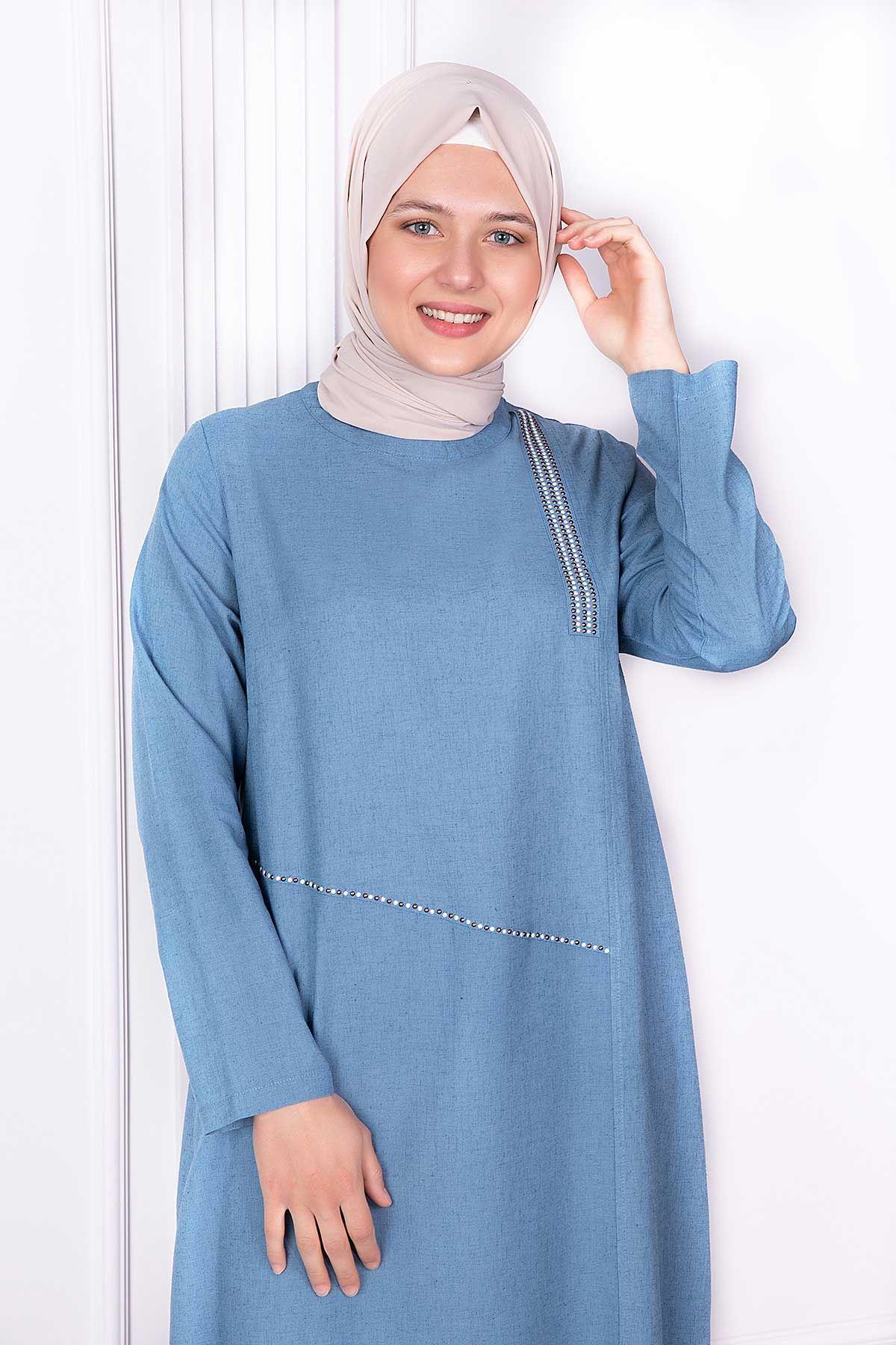 Alya Tunik Mavi 23002