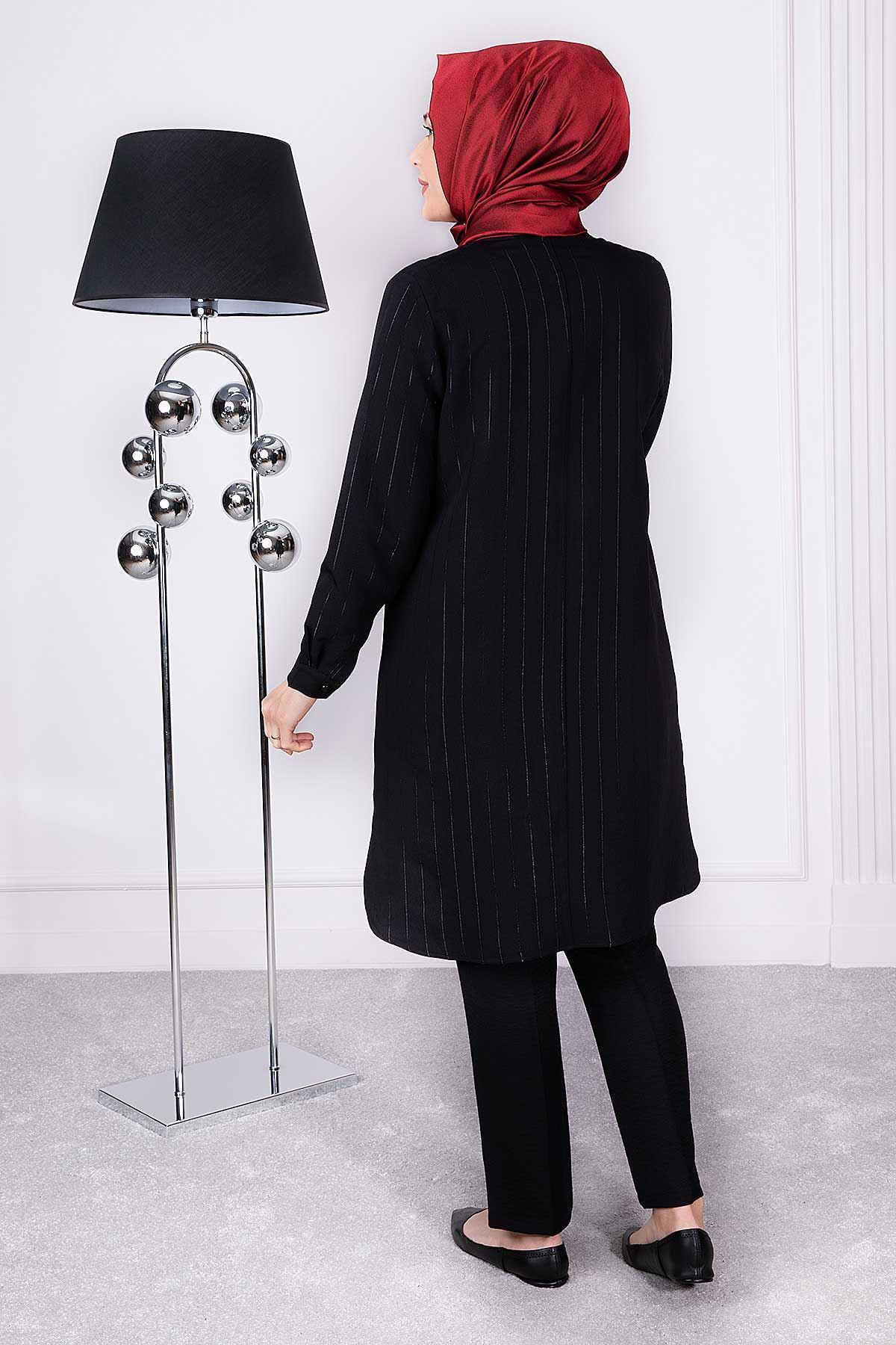 Parla Tunik Siyah 23001