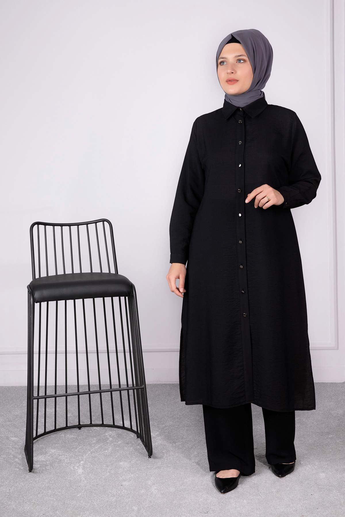Ahsen Tunik Siyah 23003