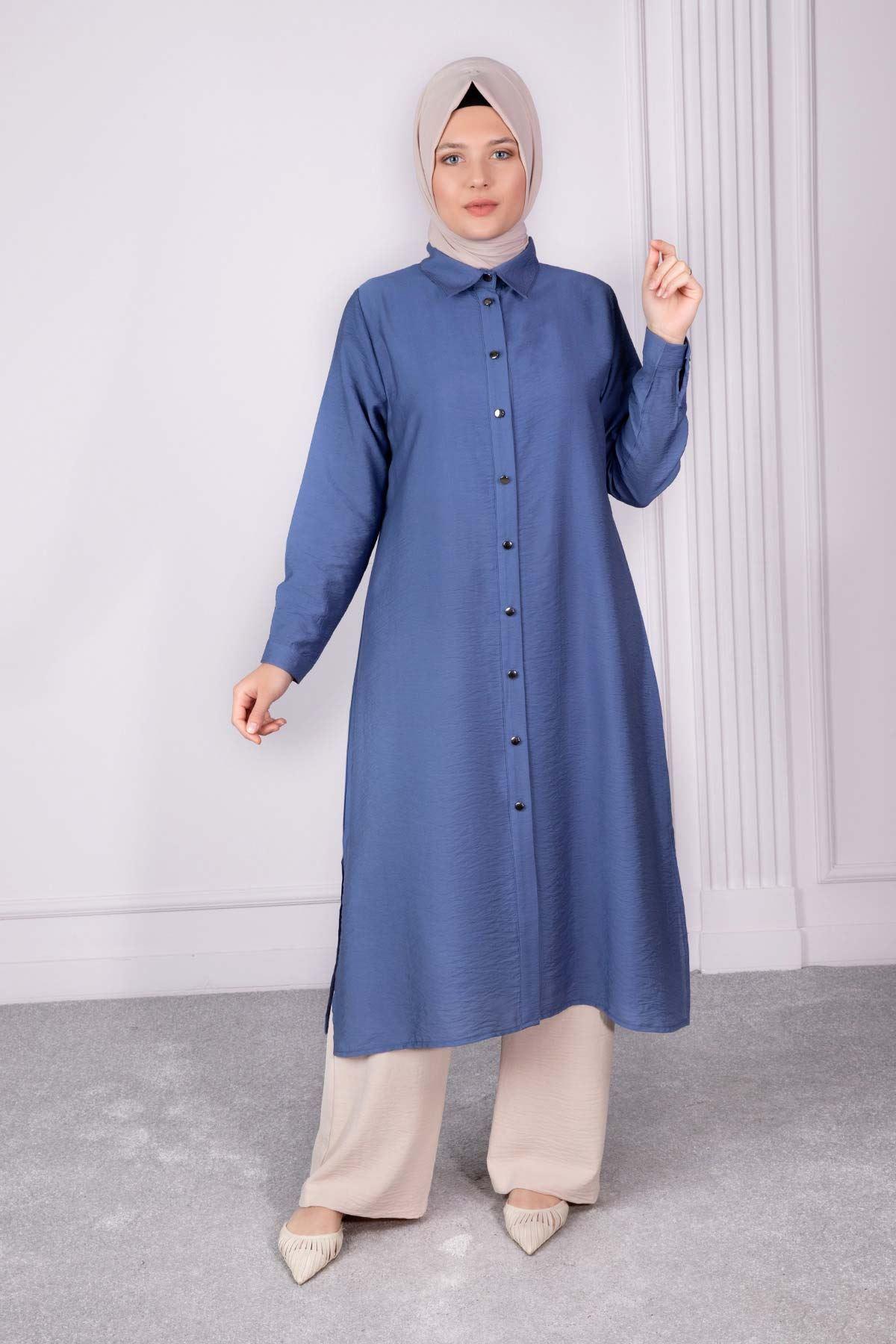 Ahsen Tunik Mavi 23003