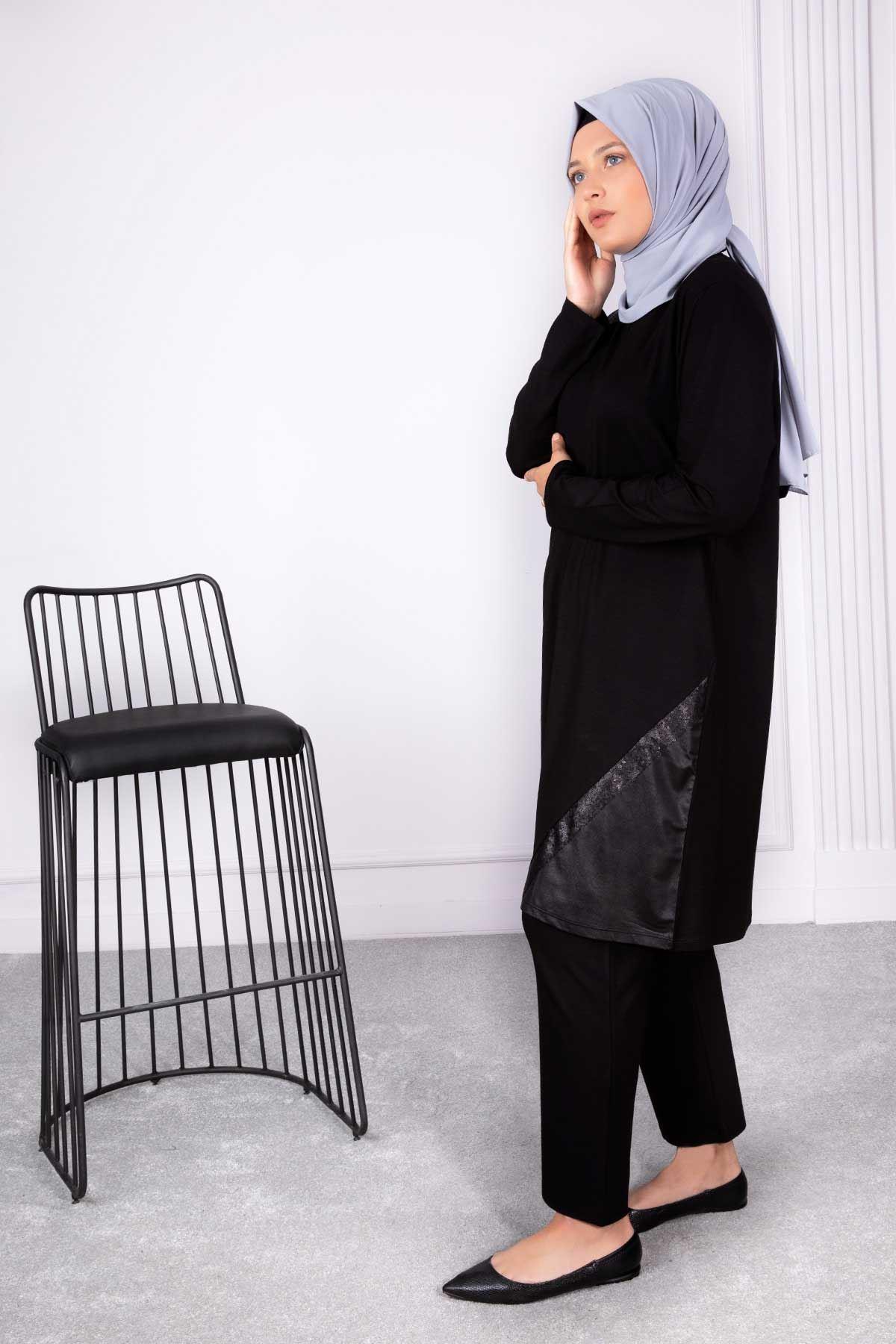 Sezen Tunik Siyah 20005