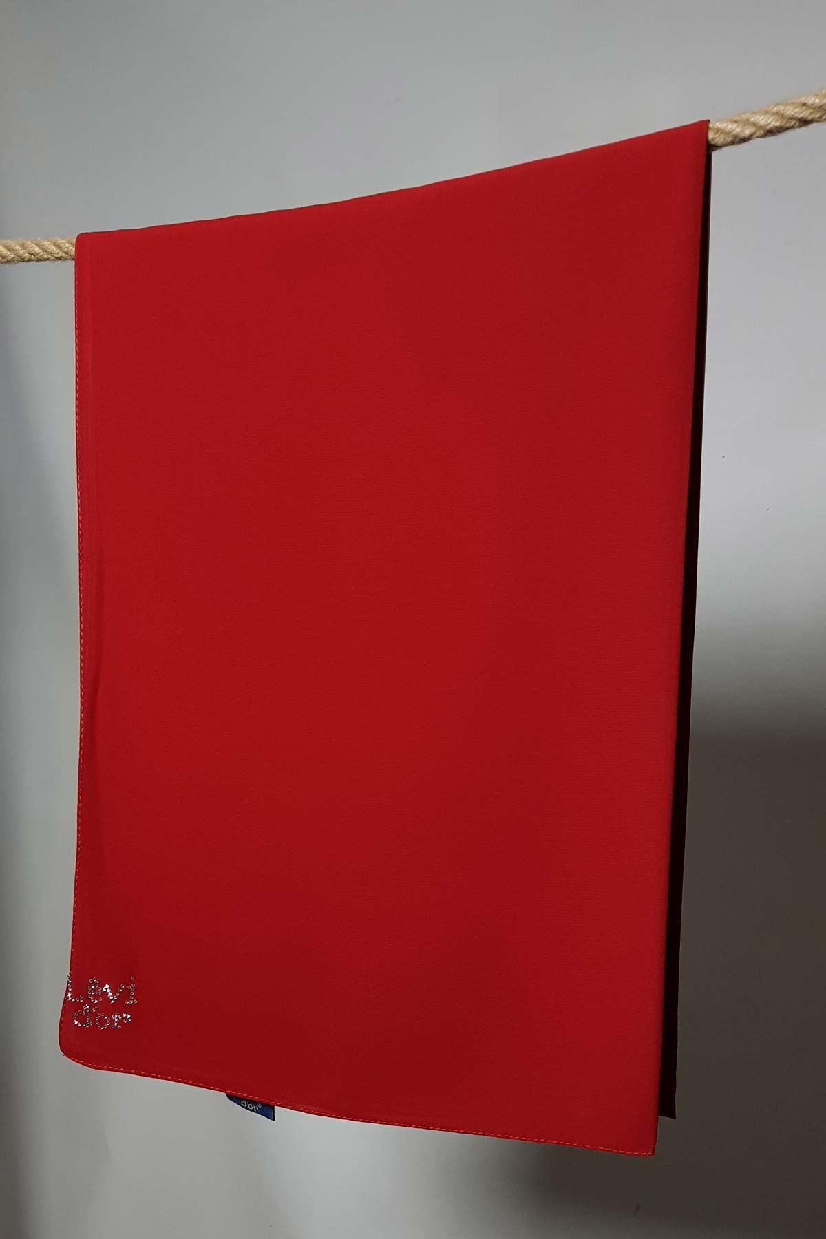 Medine İpeği Levidor Kırmızı