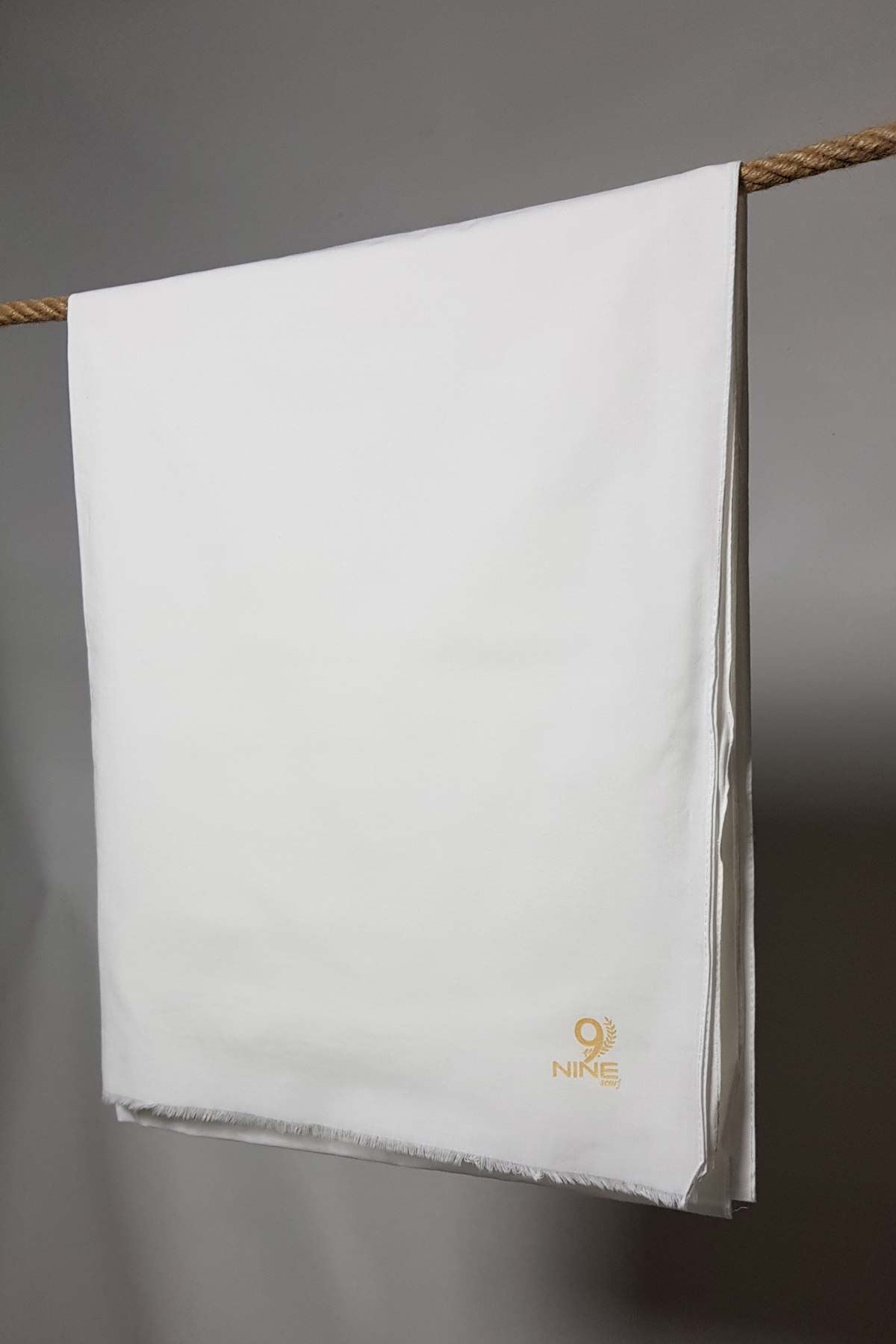 Pamuklu Şal Nine Beyaz