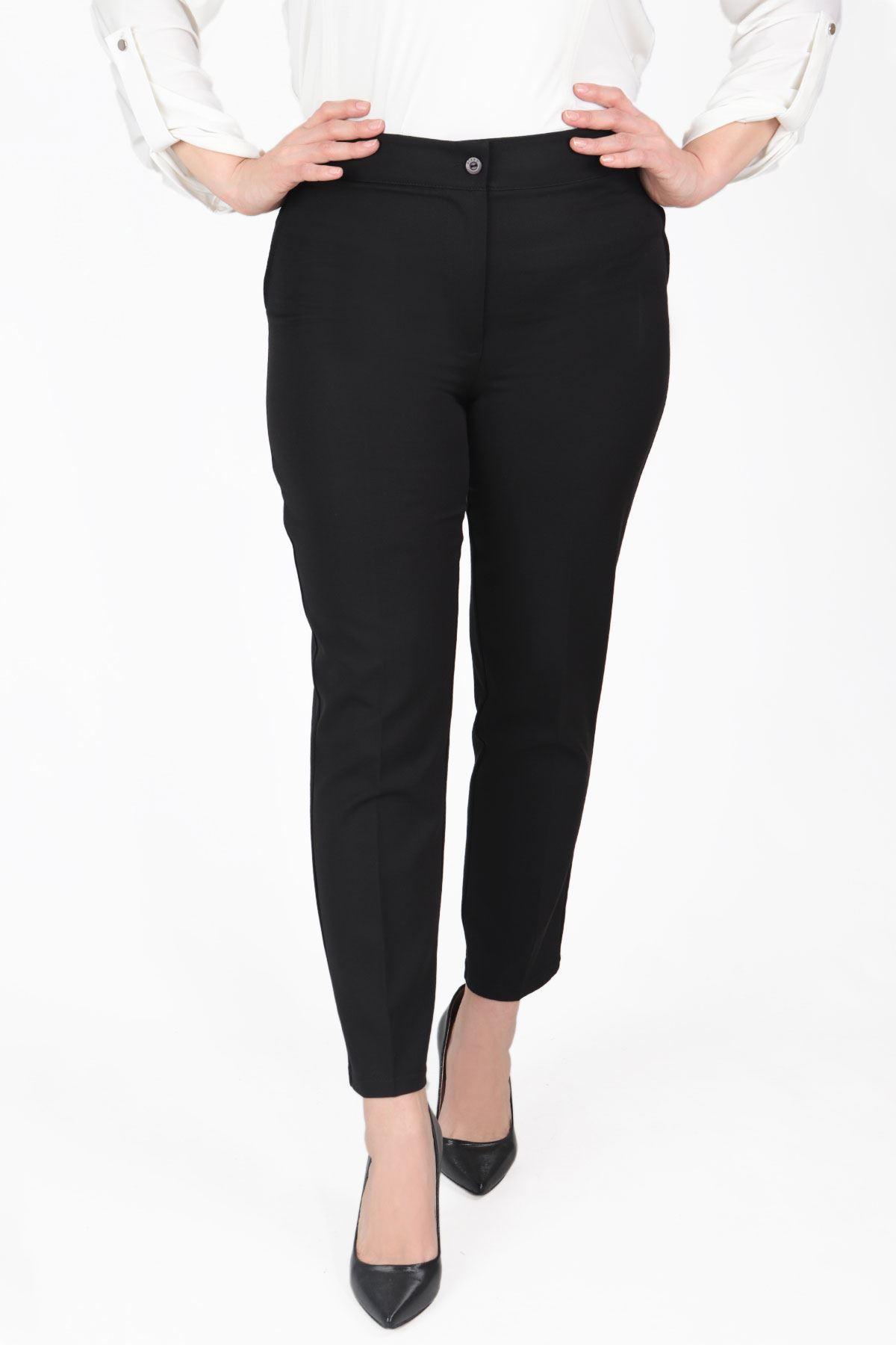 Büyük Beden Pantolon Siyah B470